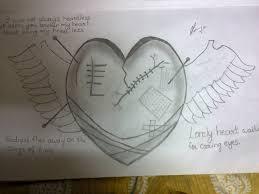 heart pencil sketch heart paintings desipainters pencil art drawing