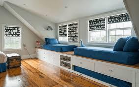 Bedroom Bed In Front Of Window Modern Window Treatment Ideas Freshome