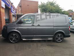 volkswagen van wheels calibre odyssey black polished 18
