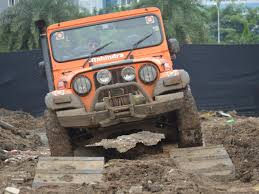kerala jeep mahindra adventure off road track at autocar performance show