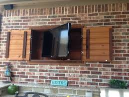 Build Outdoor Tv Cabinet Outdoor Tv Installation Ideas Royal Home Theater Royal Home