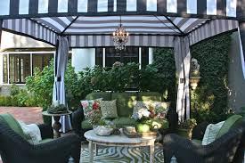 pavilion patio furniture vignette design the portofino pavilion a dream come true
