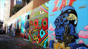 Clarion Alley Mural Project San Francisco by Camp 2016 Clarion Alley Mural Project