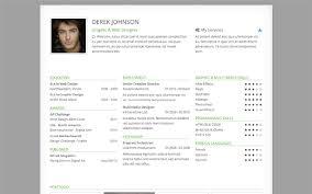 derek responsive one page resume bootstrap portfolio and