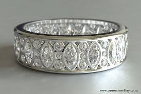 vintage bands rings images Marquise and round cut diamond band new zealand jpg