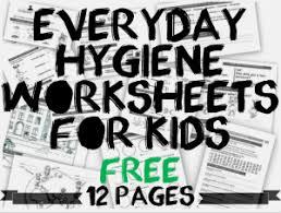 printable hygiene activity sheets personal hygiene worksheets for kids personal hygiene