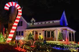 Candy Canes Lights Outdoor by Christmas Holiday Christmas Candy Cane Lightscandy Lights