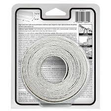 amazon com magic tub wall peel u0026 stick caulk in almond 1 5 8