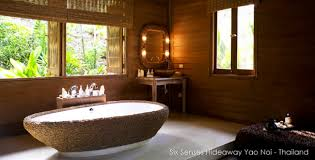 small bathroom chic tranquil spa inspired accessories from