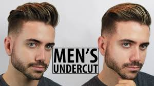 disconnected undercut haircut and style tutorial 2 easy