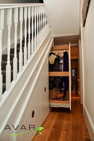 under stairs shelving solutions from avar furniture decor ideas