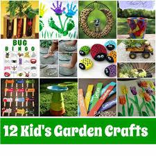 Gardening Crafts For Kids - kid u0027s garden crafts roundup mother2motherblog