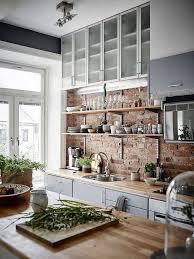 Brick Kitchen Ideas Best 25 Exposed Brick Kitchen Ideas On Pinterest Brick Wall Nurani