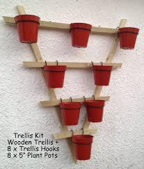 trellis hooks plant pot holders plant pot rings to hang 6