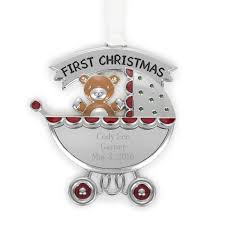 first christmas carriage ornament