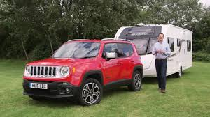 jeep renegade camping the practical caravan jeep renegade review youtube