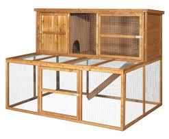 Flat Pack Rabbit Hutch Kendal 180 6ft Rabbit Hutch And Run Gardensite Co Uk