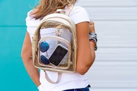 a local designer used lsu u0027s clear bag policy achieve her