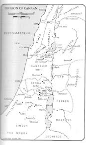 Map Of Canaan Inconsistencies In The Exodus Legend Www Bible Guide Net