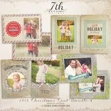 christmas card templates for photographers 2014