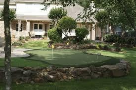 Backyard Chipping Green Back Yard Putting Green 1 Mini Golf Course For Backyard Avaz