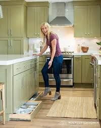 kitchen cabinet baseboards why you should install toe kick drawers purewow