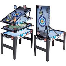 target air hockey table amazon com md sports 36 4 in 1 multi game combo table air hockey