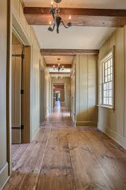 clasic colonial homes wide plank wood flooring interior hallway classic colonial homes