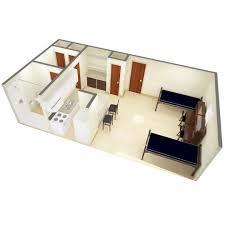 floor plan of studio apartment beta gamma community
