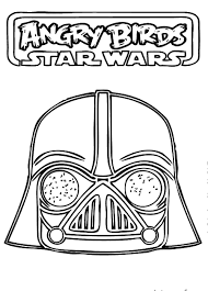 angry birds star wars coloring pages coloringsuite