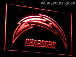 light display los angeles los angeles chargers led neon sign light display made of the
