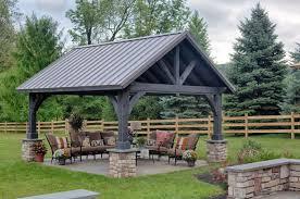 outdoor pavilions for sale wood u0026 vinyl styles penn dutch