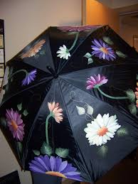 Southern Butterfly Umbrella by A Hand Painted Umbrella Painted For A Friend Remember To Paint