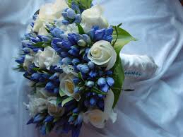 bouquets for wedding light blue flowers for wedding bouquets wedding bouquet of