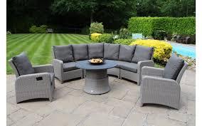 Garden Sofa Dining Set Majestique Rattan Botany Lounge Dining Set