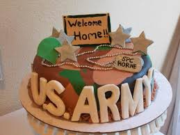 welcome home cake for a soldier coming home from deployment