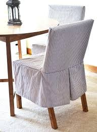slipcovered parsons chairs parson chair slipcovers the easiest slipcover pattern the