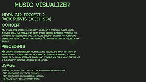 music visualizer on behance
