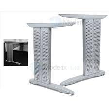 bureau armature en métal pied de table achat vente pied de