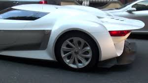 citroen supercar citroen gt massive revs in london youtube