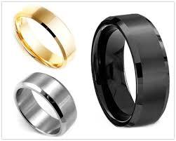 man rings images Finger colors stainless polishing 3 casual for man rings men black jpg
