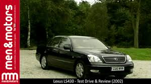 lexus ls400 vs audi a8 lexus ls430 test drive u0026 review 2002 youtube