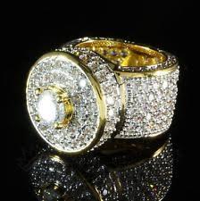 mens gold diamond rings mens 18k gold diamond ring ebay