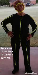 glow in the dark stick man halloween costume thoughtful gifts