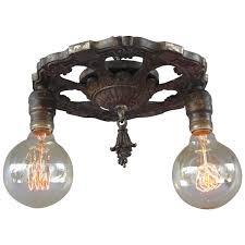 antique 1920 ceiling light fixtures antique ceiling light fixtures art deco semi flush mount chandelier