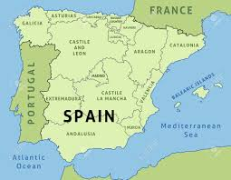 Spain On A Map by Spain Country Map Ireland Map