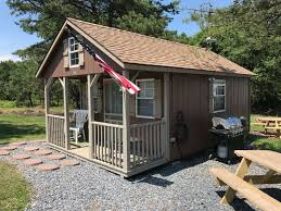 modern tiny house primitive cabin pine ridge campground pa 1