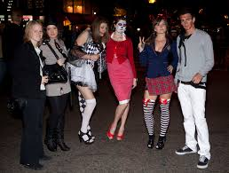 hollywood halloween girls at west hollywood halloween parade andrew ber