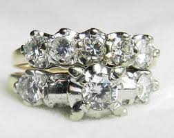 Vintage Wedding Ring Sets by Vintage Bridal Sets Etsy