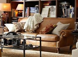 pottery barn leather sofas home decorators collection gordon 1